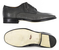 $1825 Santoni Gray Shoes - Lace Ups - Size 9 (US) / 8 (EU) - (TRIUMPH/CEUG50)