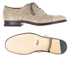 $1825 Santoni Beige Shoes Size 6.5 (US) / 5.5 (EU)