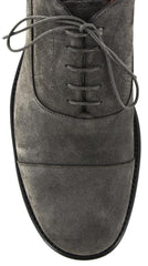 $1175 Santoni Brown Shoes Size 8 (US) / 7 (EU)