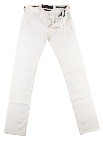 Jacob Cohën White Jeans - Slim