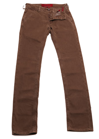Jacob Cohën Brown Jeans - Slim