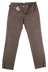 $425 Jacob Cohën Brown Solid Jeans - Slim -  30/46 - (A3)