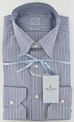New $450 Truzzi Blue Shirt 15.75/40