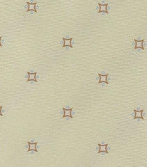 New $195 Luigi Borrelli Cream Silk Tie