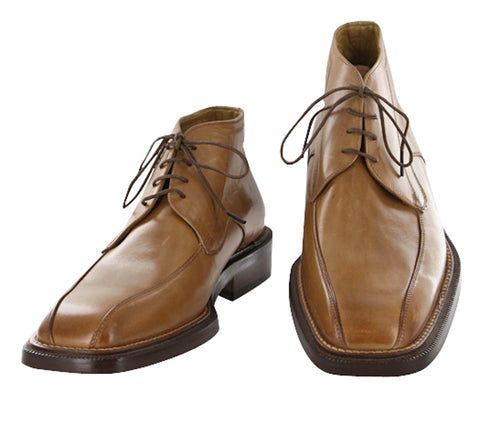 Moris Caramel Brown Shoes – Size: 6.5 US / 5.5 UK