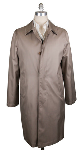 K-red by Kiton Beige Coat