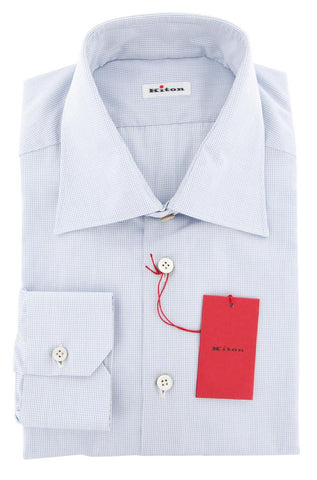 Kiton Light Blue Shirt - Slim