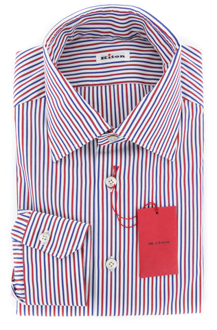 Kiton Red Shirt - Slim