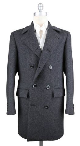 Kiton Gray Coat - 36 US / 46 EU