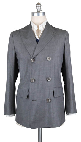 Kiton Gray Jacket - 40 US / 50 EU