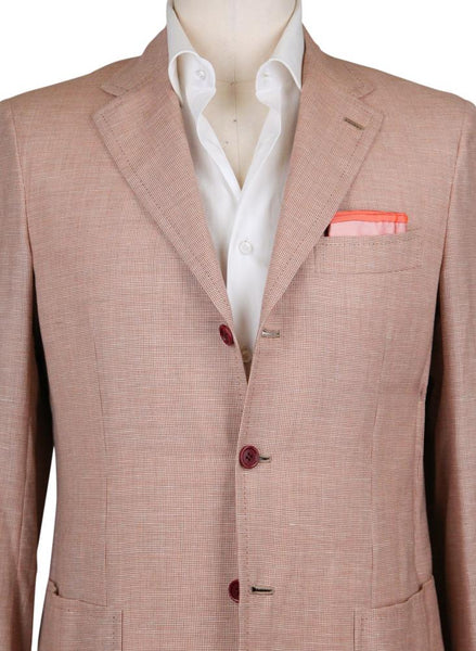New $5400 Kiton Light Brown Cashmere Blend Sportcoat - (UG3096A1713R7) - Parent