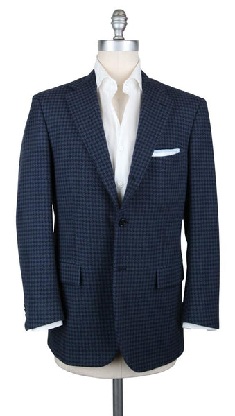 New $7500 Kiton Navy Blue Cashmere Sportcoat - (UGB321H3106R8) - Parent