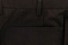 $800 Kiton Brown Solid Cotton Pants - Slim - (874) - Parent