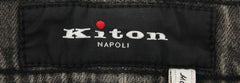 New $1100 Kiton Gray Solid Jeans - Slim - (UPNJS2I7101) - Parent
