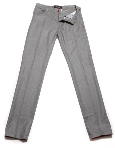 Kiton Gray Pants - Slim