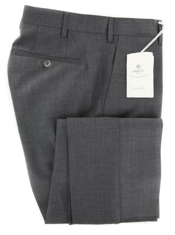 Luigi Borrelli Gray Pants - 42 US / 58 EU