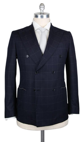 Luigi Borrelli Midnight Navy Blue Suit