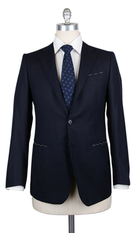 Borrelli Midnight Navy Blue Suit