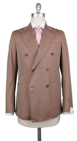 Luigi Borrelli Light Brown Suit