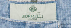 New $425 Luigi Borrelli Denim Blue Jeans - Extra Slim - ��42/58 - (CAR03211646)