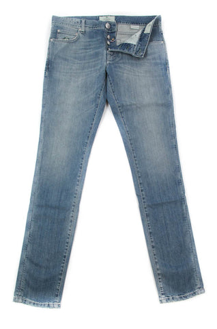 Luigi Borrelli Denim Blue Jeans - Super Slim - 36 US / 52 EU
