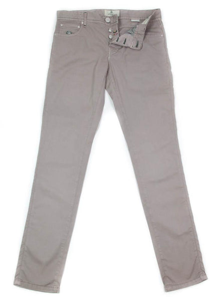 New $400 Luigi Borrelli Light Brown Pants - Super Slim - 32/48 - (CARSS29310573)