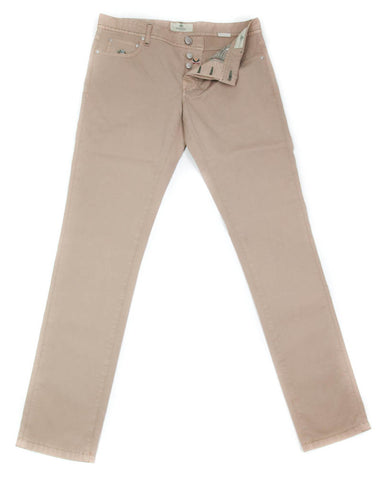 Luigi Borrelli Light Brown Pants - 34 US / 50 EU