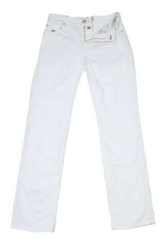 Borrelli White Pants