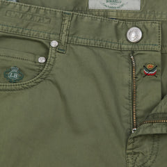 New $400 Borrelli Green Solid Pants - Full - (CHIJ03050) - Parent