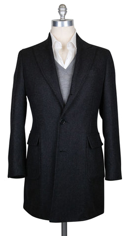 Luigi Borrelli Dark Gray Coat