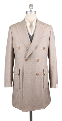 Luigi Borrelli Brown Coat