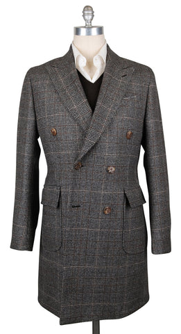 Luigi Borrelli Brown Peacoat
