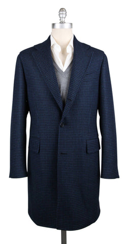 Luigi Borrelli Dark Blue Coat