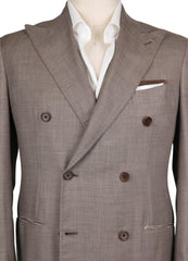 New $6300 Luigi Borrelli Brown Cashmere Solid Sportcoat - (DP171160) - Parent