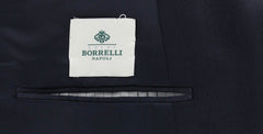 New $2700 Luigi Borrelli Midnight Navy Blue Sportcoat -  46/56 - (DP26202R7)