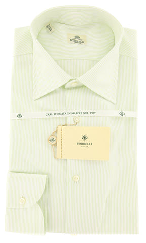 Luigi Borrelli Green Shirt - 15.75 US / 40 EU