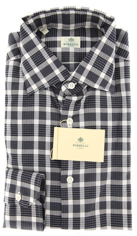Luigi Borrelli Gray Shirt - Extra Slim