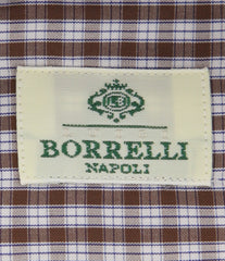 Luigi Borrelli Brown Shirt - 15.75 US / 40 EU