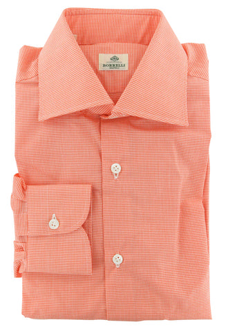 Luigi Borrelli Orange Shirt - Extra Slim
