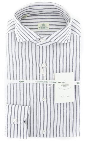 Borrelli White Shirt - Extra Slim