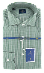 New $600 Luigi Borrelli Green Shirt - Extra Slim - 15.75/40 - (EV0601250NANDO)