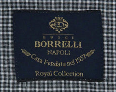 New $600 Luigi Borrelli Gray Shirt - Extra Slim - (EV06423230RIO) - Parent