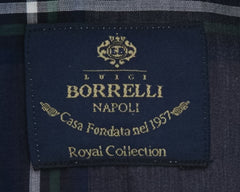 New $600 Luigi Borrelli Gray Shirt - Extra Slim - (EV0657353STEFANO) - Parent