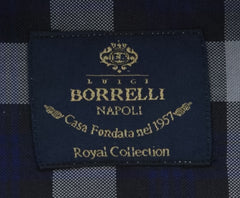 New $600 Luigi Borrelli Gray Shirt - Extra Slim - (EV0665973STEFANO) - Parent