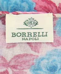 Luigi Borrelli Pink Wool Blend Scarf  Accessory - ShopTheFinest- Luxury  Italian Designer Brands for men