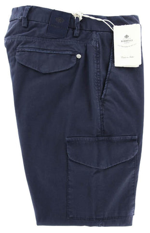 Luigi Borrelli Navy Blue Pants - 31 US / 47 EU