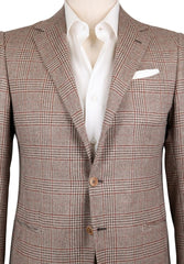 New $3300 Luigi Borrelli Brown Wool Blend Sportcoat - (LBSPT130660) - Parent