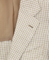 New $3000 Luigi Borrelli Beige Silk Blend Sportcoat - (LBSPT162661) - Parent