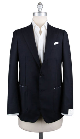 Luigi Borrelli Midnight Navy Blue Sportcoat