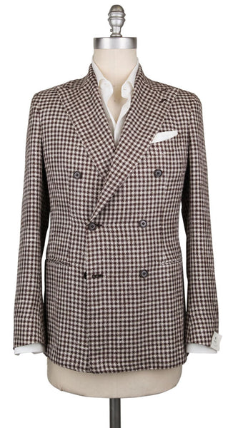 New $3000 Luigi Borrelli Brown Silk Blend Sportcoat - (LBSPTC163161) - Parent